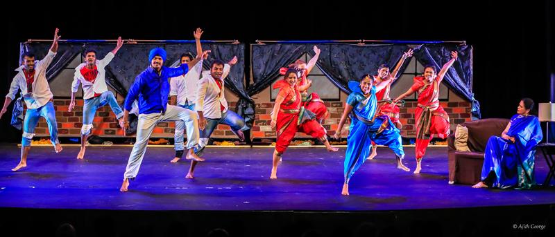 Bollywood Dance Scene